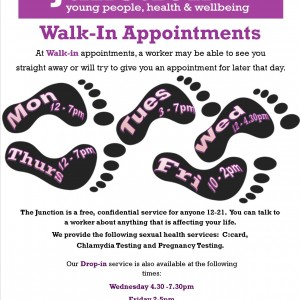 Walk-In Appointments